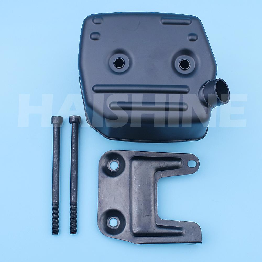 Exhaust Muffler Bracket Bolt Kit For Husqvarna 181 288 281 288XP 181XP 281XP Chainsaw Silencer Support 503591501