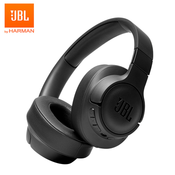 JBL TUNE 750BTNC Wireless Bluetooth Headphones Noise Cancelling Pure Bass Earphone Gaming Sports Gym Headset Handsfree with Mic Electronics Wireless Earphones