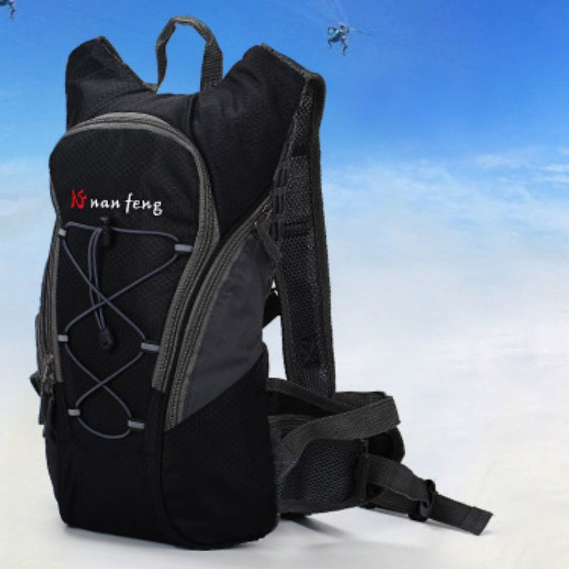 Outdoor Cycling Climbing Hiking Travel Double Shoulder Backpack Practical Portable Sport Backpack Without/With Water Bladder Bag