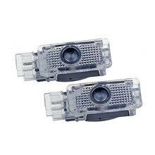 2X Led пригласительные огни в дверь автомобиля светильник логотип лазерный проектор для Mercedes Benz W203 C Class AMG 2001-2007 SLK, CLK SLR R171 R199 W209 W240