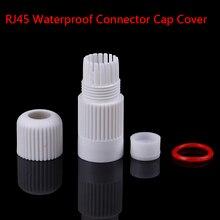 RJ45 водонепроницаемый разъем крышка Крышка для наружной сети ip-камеры косички кабель