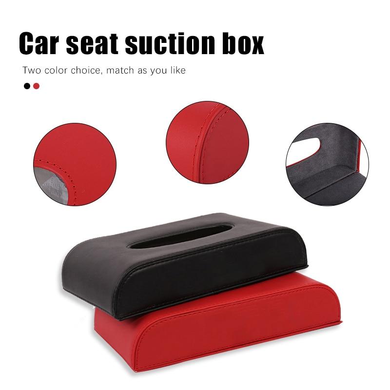 Car Tissue Box Cover Car Tissue Box Towel Sets Sun Visor for MG ZS GS HS 3SW 3 GT Ruiteng 6 New Energy Car Seat Napkin Drawer