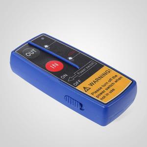 Image 5 - חשמלי מנוף כננת כבל 12V כבל כננת 1360kg / 3000lbs כננת חשמלית עם שלט רחוק (1360kg) עם משלוח חינם
