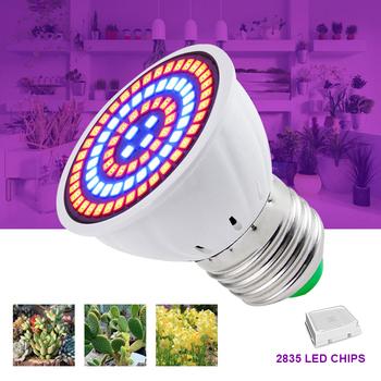 Lampa ledowa do hodowli roślin żarówka pełnozakresowe LED lampa do uprawy roślin oświetlenie wewnętrzne świetlówka do roślin rośliny E27 System hydroponiczny growbox światła tanie i dobre opinie CN (pochodzenie) H-P1002 4 8CM grow light Led chip Bezprzewodowy ściemniacz 220 v Rosną światła 1 Year