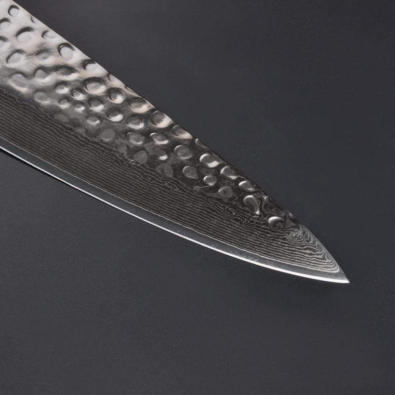 8inch Chef Knife VG10 Damascus Steel Gyuto Knive Professional Kitchen Knife Slicing Sushi Filleting Japan Knife