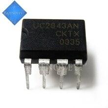 10 ชิ้น/ล็อตUC2843 UC2843B UC2843AN DIP 8 ในสต็อก