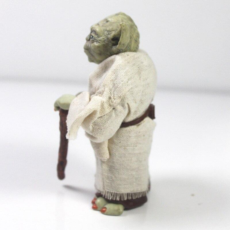 Star Wars Monster Yoda Darth Vader Action Figure Doll Toys The Force Awakens Jedi Master Yoda Anime Figures Lightsaber 5