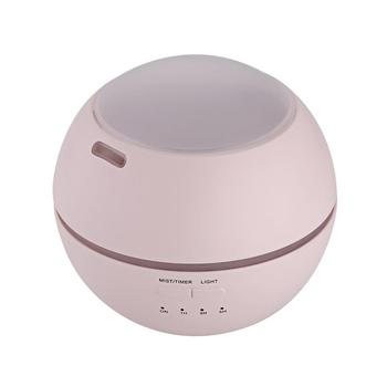 Mini Ultrasonic Air Humidifier 150ML Aroma Essential Oil Diffuser USB Humidifier Mute Mist Fogger Maker LED Light Round White