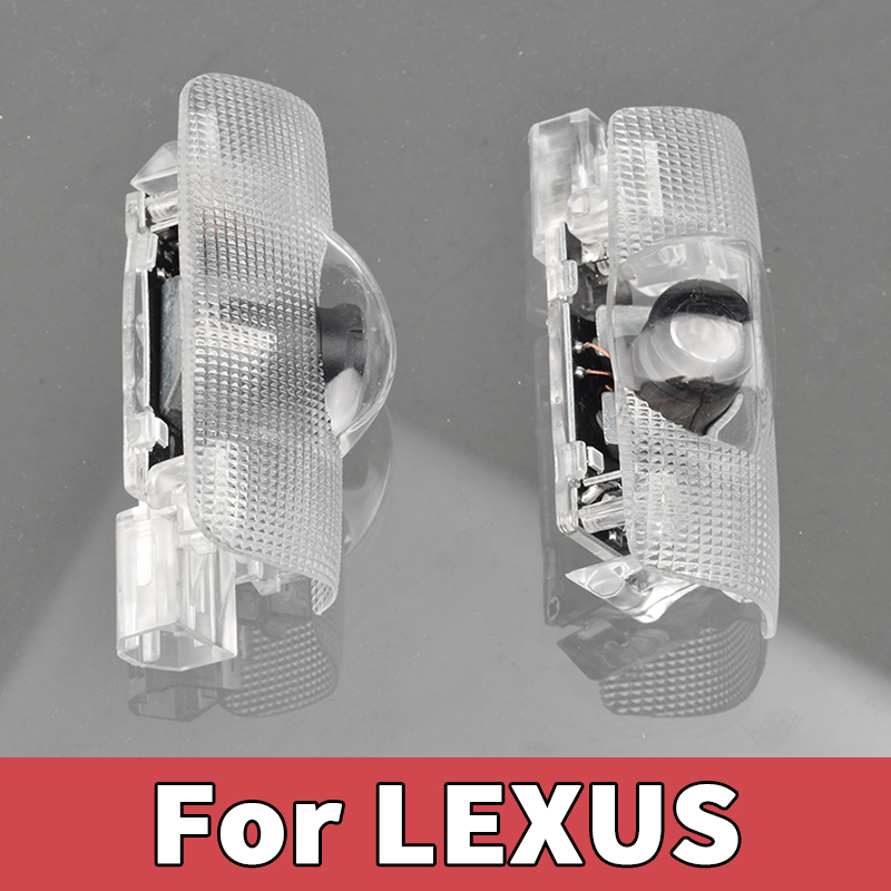 2pcs Car Door light For Lexus LS IS LX RX GS LC GX ES RC 200 250 250AWD 300h 350 350AWD 400 450 450h 460 Logo projector lamp image