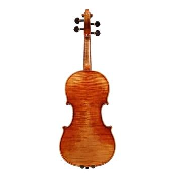 Copy Stradivarius 1716 100% Handmade Oil Varnish Violin + Carbon Fiber Bow  Foam Case violon FP04 фото