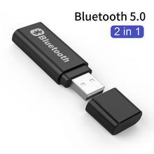 Transmitter Bluetooth-Receiver Audio BT5.0 Wireless-Adapter USB Music Stereo A2DP Car-Kit