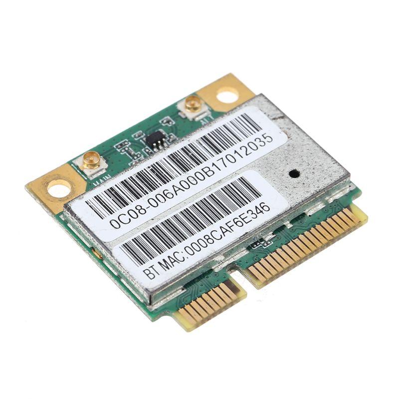 AW-NB097H AW-NB100H AW-NB126H AR9485 AR3012 AR5B225 300Mbps Half Mini PCI-Express BT4.0 Wlan Wireless Wifi Card Adapter