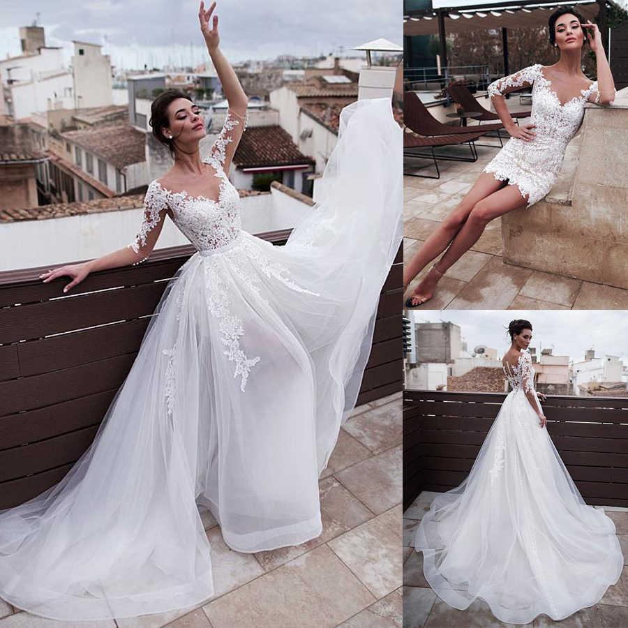 Merveilleux bijou décolleté 2 en 1 robes