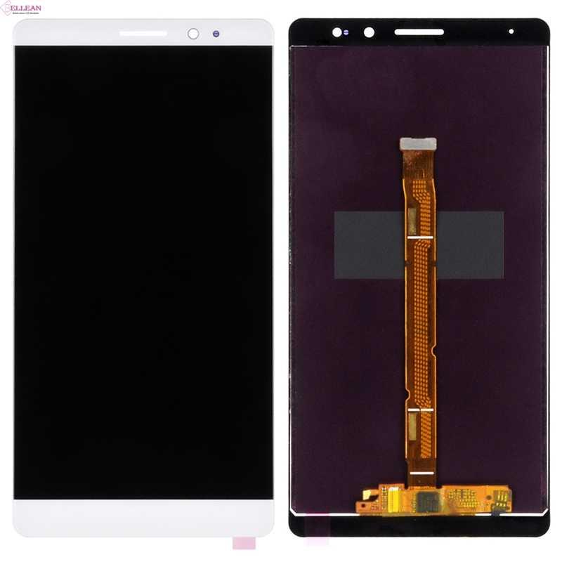 Hh companheiro 8 display para huawei companheiro 8 lcd com tela de toque digitador assembléia substituição mate8 nxt l29 tela com ferramentas