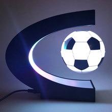 Магнитный левитирующий шар Футбол декоративный свет плавающий футбол ночной Светильник офис домашняя лампа день рождения детей, мальчика подарок