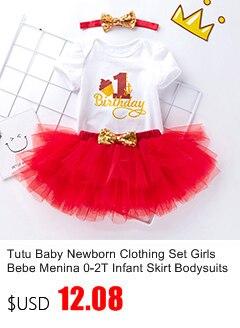 Tutu Baby Birthday Set Spring Brand Baby 4Pcs Clothing sets Tutu Romper Roupas Bebe Menina Infant 0-2T Newborn Baby Clothing Set