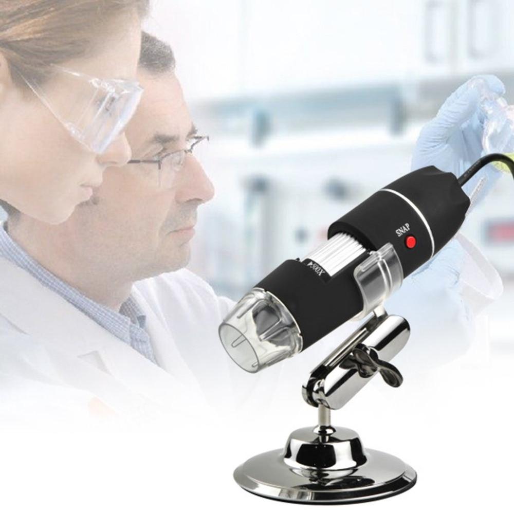 1600X Microscopio HD Electronic Digital USB Stereo Microscope Mikroskop para electronica Trinocular mega hair body feminino|Microscopes| |  - title=