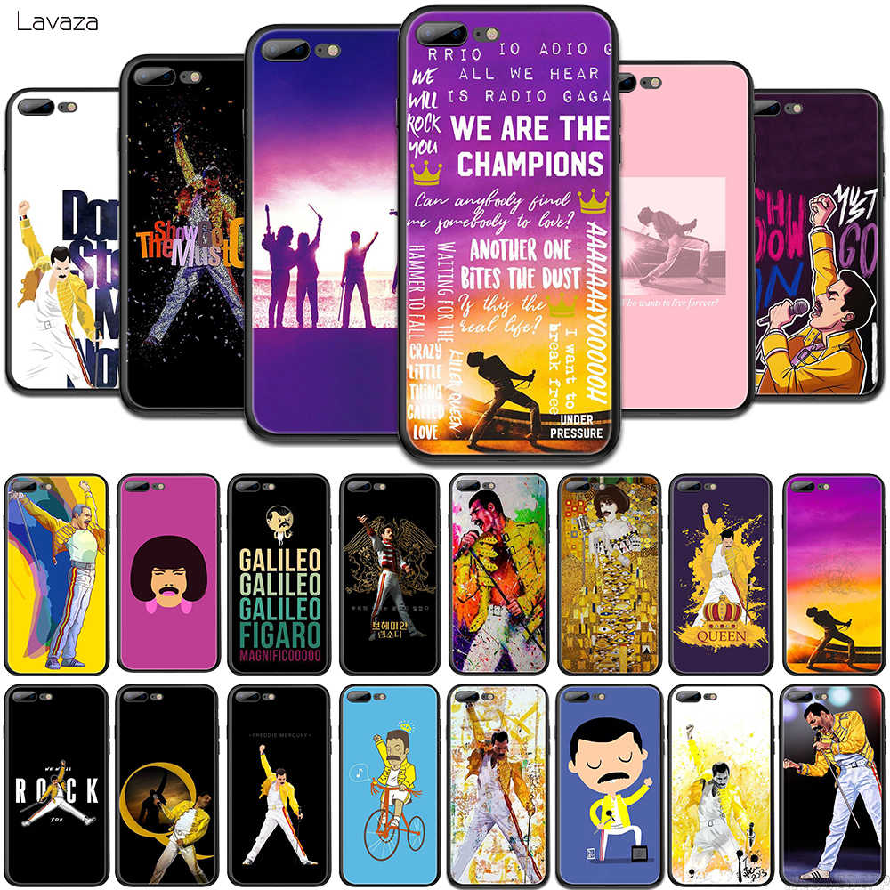 Lavaza Freddie Mercury Queen band TPU Soft Case voor OPPO Realme 2 3 Pro X Lite Q 5 A5 voor OPPO Reno Z 2 Cover