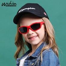 Солнцезащитные очки для детей, поляризованные солнцезащитные очки для девочек и мальчиков, детские очки, чехол, прекрасные оттенки, защита от уф400 лучей, Gafas De So