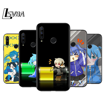 Black Soft TPU Cover Enom Takane for Honor 9X 9 Lite 8S 8C 8X 8A 8 2019 2020 7A 7S 7C Pro Phone Case image