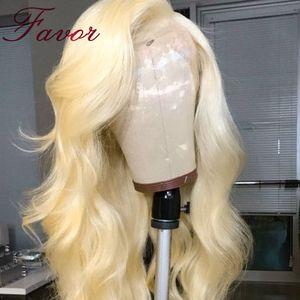 Image 4 - 613 de encaje pelucas con minimechones para las mujeres negras 13x4 brasileño de la onda del cuerpo del pelo humano de Remy pelucas de encaje 150% densidad a Favor