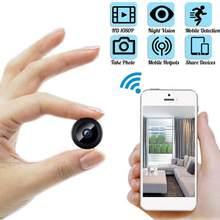 Mini caméra de surveillance WiFi IP HD 1080p, dispositif de sécurité sans fil, avec Vision nocturne et détection de mouvement, pour bébé