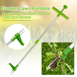 Killer Tool Portable Long Handled Lightweight Claw Weeder Durable Manual Outdoor Stand Up Garden Lawn Weed Puller Root Remover