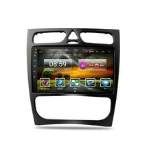 2 Din Автомобильный мультимедийный плеер Android 8,1 GPS Авторадио для Mercedes Benz c-класс W203 C200 C320 C350 CLK W209 2002-2005