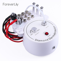 3 In 1 Diamond Microdermabrasion Dermabrasion Machine Water Spray Exfoliation Beauty Machine Wrinkle Facial Peeling Device