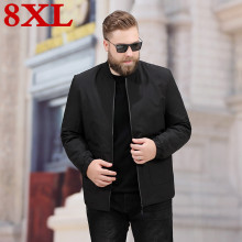 New big Plus Size 8XL 7XL 6XL 5XL  Men Spring And Autumn Jackets Coats Large Mens Clothes high quality jackets