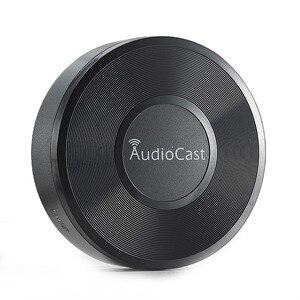 Image 5 - Audiocast M5 kablosuz müzik flama WIFI müzik alıcısı ses ve müzik hoparlör sistemi çok oda akışı DLNA Airplay adaptörü