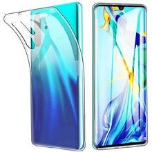 Wyczyść etui do Xiaomi Mi10 MI 10 9 A3 Mi9 SE 9T Redmi uwaga 8 Pro 9A 8T 9C 7 6 8A K20 ochrona silikonowa osłona akcesoria do telefonów
