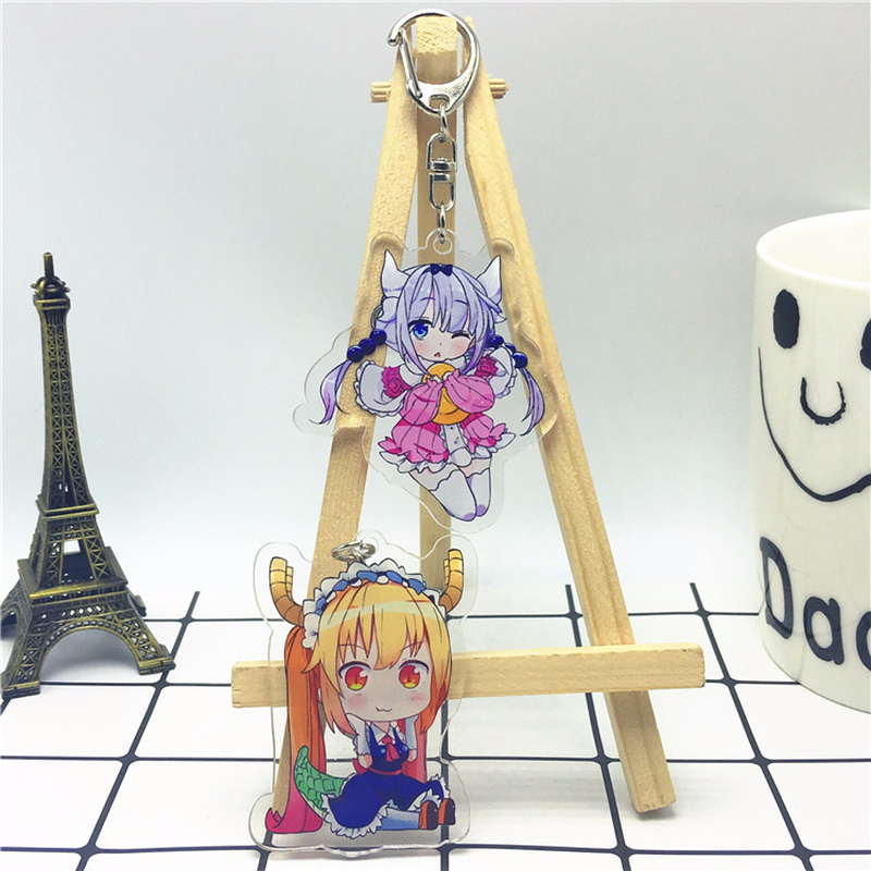 Miss Kobayashi/'s Dragon Maid Kanna Kamui Acrylic Keychain Gifts Funny Present