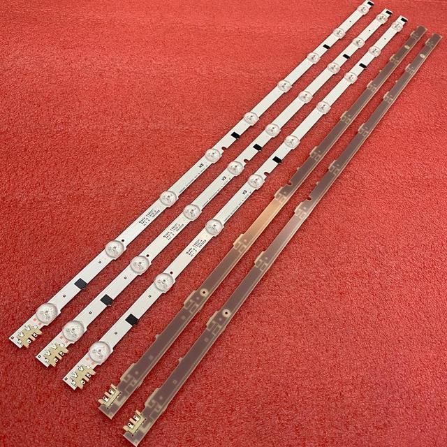 Kit 5 Pcs 9LED 650Mm Led Backlight Strip Bar Voor Samsung UE32F5000 D2GE 320SC0 R3 2013SVS32H CY HF320AGEV3H BN96 26508a