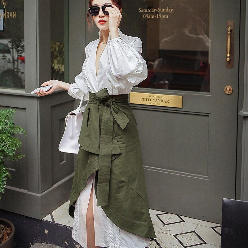 Կանանց 2 կտոր փեշի հավաքածու V - Կանացի հագուստ - Լուսանկար 3