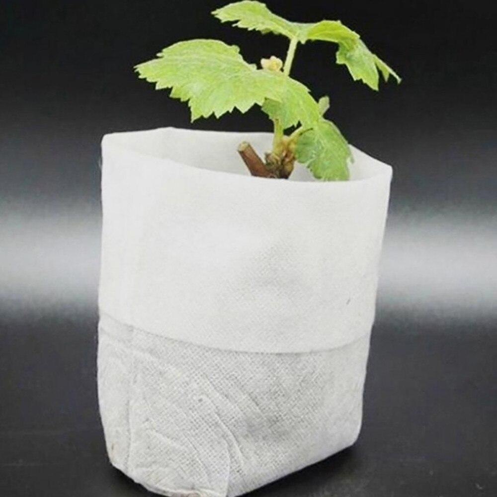 100 шт., мешочки для выращивания саженцев, 8 х10 см