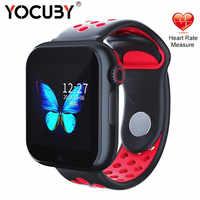 Z6S inteligentny zegarek dla dziecka mężczyźni kobiety pomiar tętna SIM 2G zegarek z bluetooth inteligentna bransoletka snu smartwatch z aparatem rosyjski PK Z6 W34