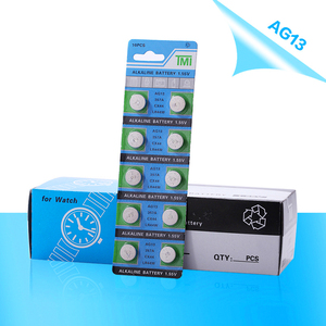 Image 5 - PHOMAX 1.55V AG13 50pcs / pack clock alkaline button battery LR44 357 S76E SP76 SG13 V303 AG 13 watch calculator toy battery