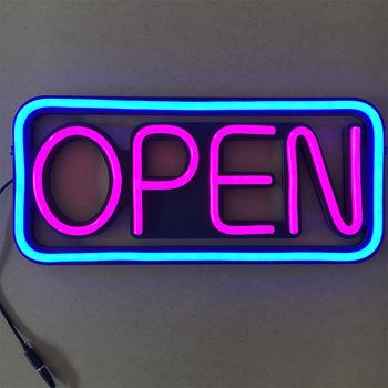 Otwarty sklep ze szkła neonowego znak okno akrylowe dla miłośników fajne światło artystyczny dom sypialnia sklep sklep Bar Neon Pub dekoracji tanie i dobre opinie ZAOYUAN CN (pochodzenie) 10000H 2 years Handlowych Indoor OUTDOOR 7000 k 12 v