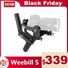 ZHIYUN oficjalna Weebill S uchwyt do kamery ze stabilizatorem 3 osi transmisji obrazu stabilizator do kamery bez lusterek OLED wyświetlacz podręczny Gimbals