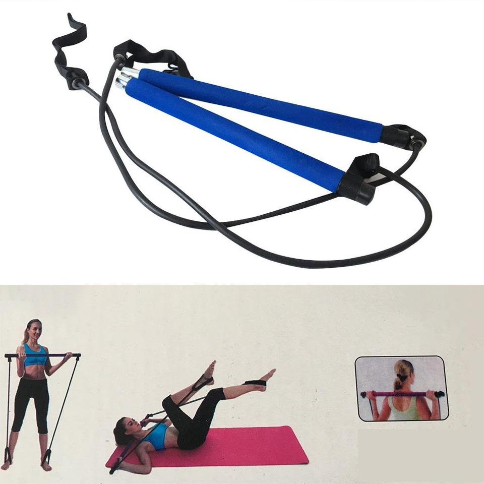 Heavy Duty Resistance Bands Strong Loop Exercise Sport Fitness Tube Home Yoga GD