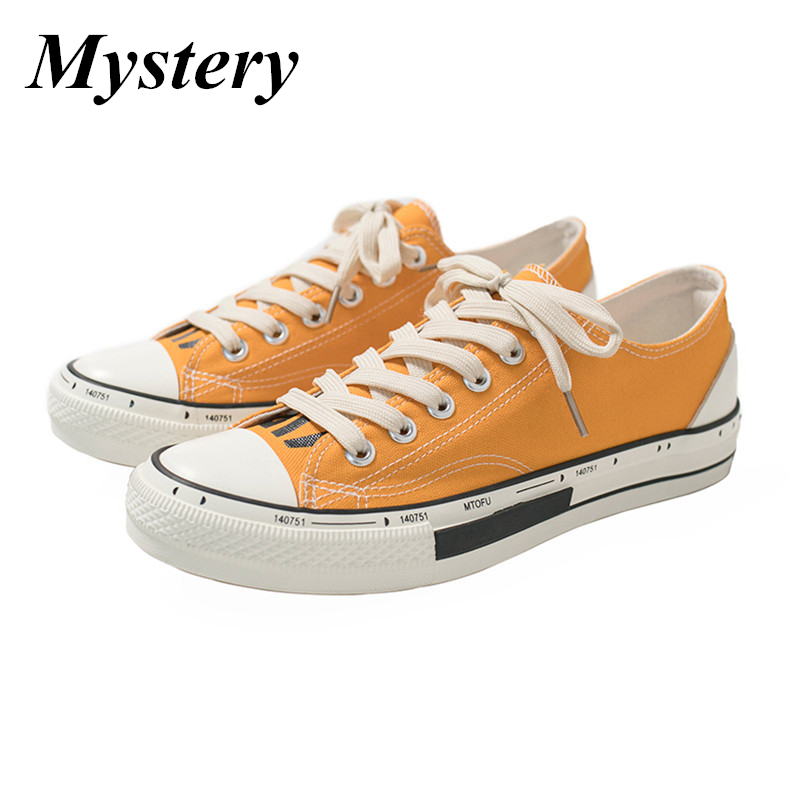 Jaune chaussures décontractées hommes coton toile chaussures à lacets hommes chaussures de marche nouveau Plimsolls chaussures pour homme été respirant baskets hommes