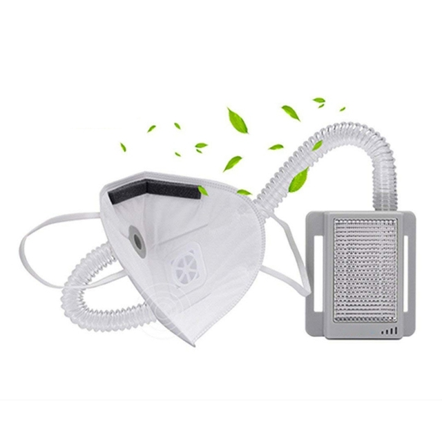 Anti-Haze Masks Molipow Travel Size Portable Breath Air Purifier HEPA Filtration Anti Dust Flu Formaldehyde 3
