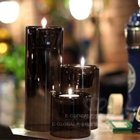 New Style 2019 Fashion Classic Glass Candle Holder Wedding Bar Party Home Decor Decoration Fashion Candlesticks Crystal 50ZT51
