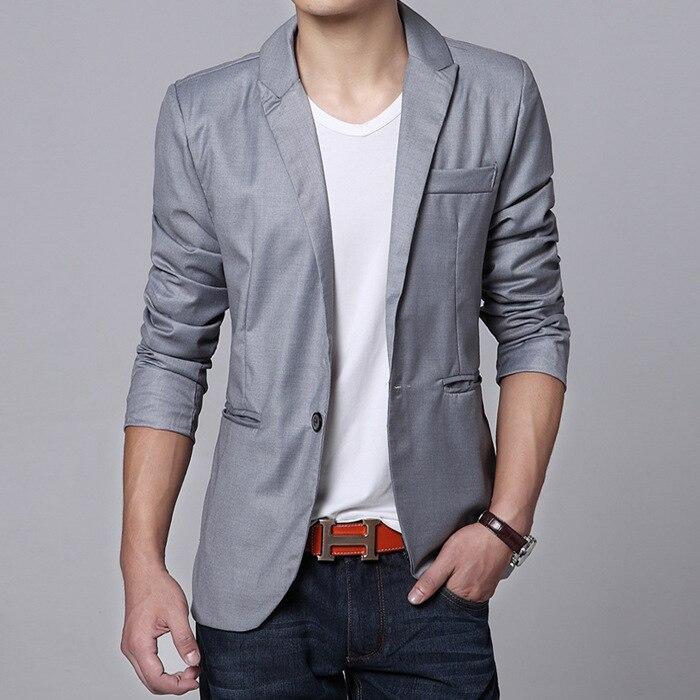AliExpress-Casual Small Suit Men's Business Tops Korean-style Spring Slim Fit Then West Suit Men