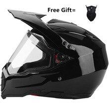 Maske göndermek hediye motosiklet kask yetişkin off road kask bisiklet yokuş aşağı AM DH çapraz kask capacete motocross kasko