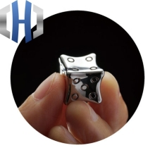 Titanium Alloy Dice TC21 Can Iced Drink EDC Light