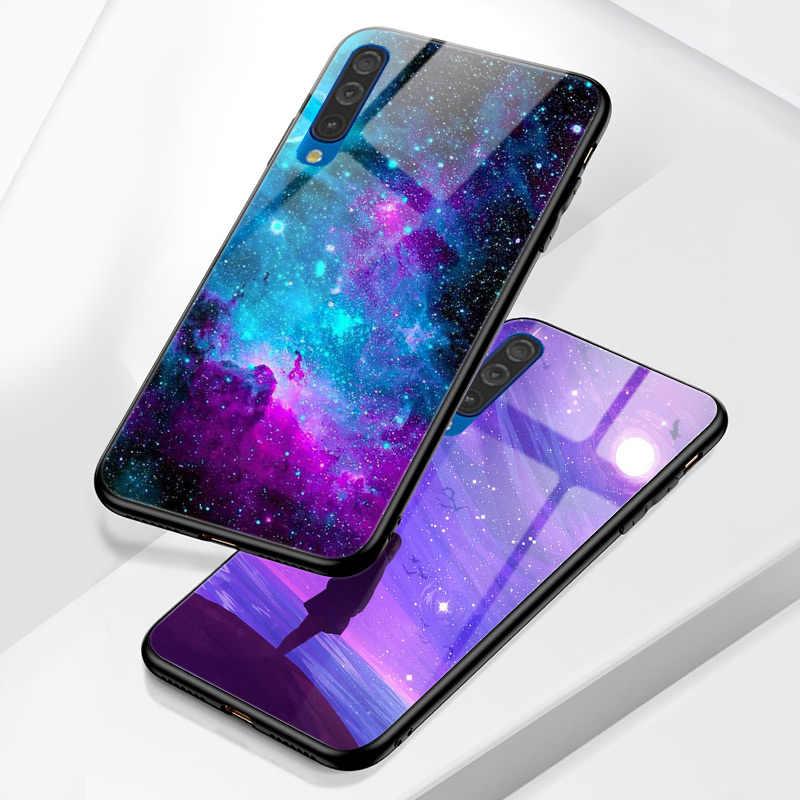 星空電話ケースA7 2018 A8 A6 プラスA3 A5 A21S A10 A20 A30 A40 A50 a70 A51 A71 A20S A30S A50S A10Sカバー