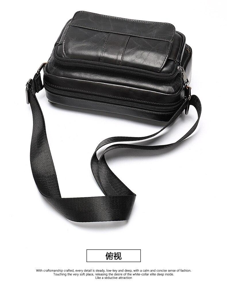 Nieuwe Hot Speciale Top PU Lederen tas Zakelijke Mannen tassen Laptop Aktetassen Cross body bags Schouder Handtas mannen Messenger tas - 6