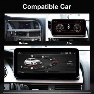 Image 2 - COIKA Unidad principal de coche, accesorio con Android 10, para Audi A4 A5 2009 2016, GPS NAVI Carplay, wifi, Google BT AUX, pantalla táctil IPS 2 + 32G de RAM